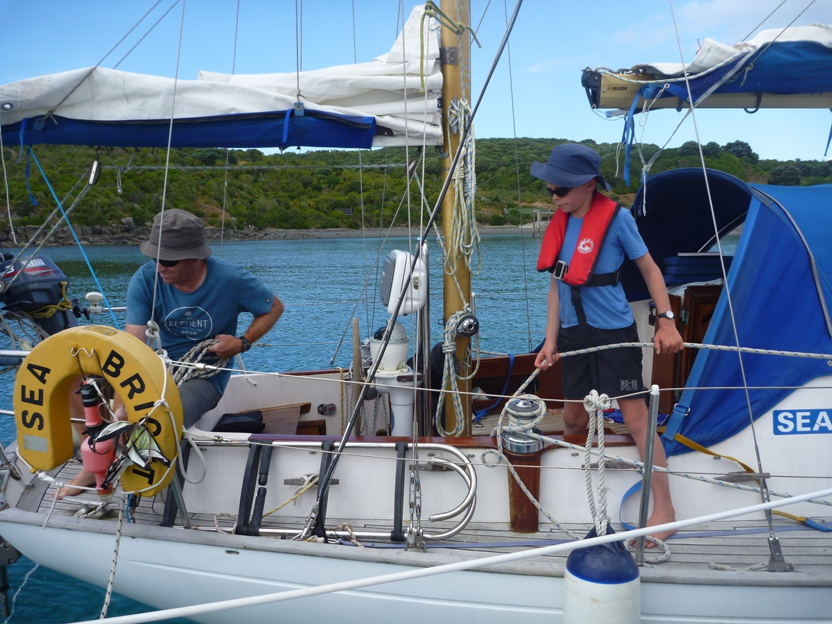 Own sailing boat tuition with Sail Nelson Sailing School