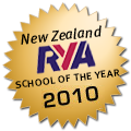 Sail Nelson - RYA New Zealand School Of The Year 2010