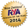 New Zealand RYA School of the year 2014